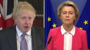 Brexit: UK PM Johnson, EU executive say talks still at impasse, could miss deadline (01:35)
