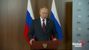 Putin welcomes troop disengagement in eastern Ukraine