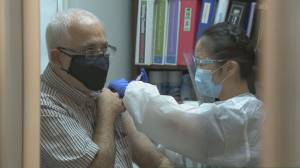 Ontario residents 75 and older eligible for COVID-19 vaccines on Monday (02:09)
