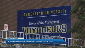 Laurentian University files for creditor protection (04:42)