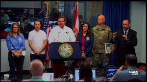 DeSantis says Dorian 'too close for comfort' even if off-coast
