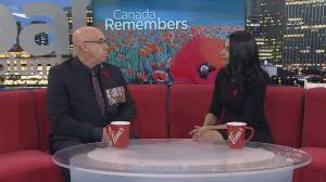 Canadian veteran shares personal story about the importance of Remembrance Day