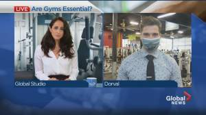 Gyms ask for essential status if Quebec returns to lockdown