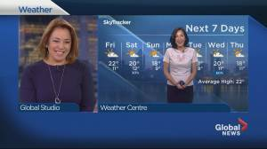 Global News Morning weather forecast: Thursday September 5, 2019