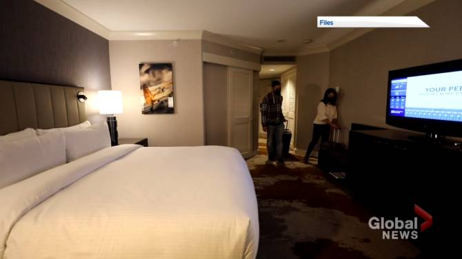 Click to play video: Concerns over New Brunswick's quarantine hotels