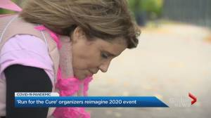 CIBC Run for the Cure changes due to coronavirus pandemic (02:59)