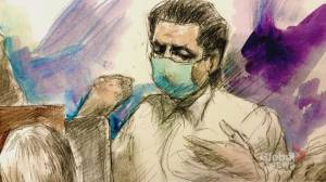 Man on trial for murder of Toronto nurse admits to hitting her with crowbar (02:05)