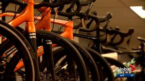 Calgary bike shops see high demand for bicycles with spring set to begin (02:10)