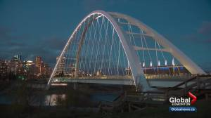 Edmonton taxpayers paid full price for the Walterdale Bridge in spite of delays (00:48)