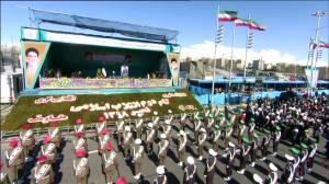 Iran commemorates revolution anniversary amid U.S. tensions
