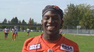 BC Lions receiver Lucky Whitehead loves the game (02:38)