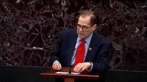 Nadler, Trump counsel debate bribery as offense during Senate impeachment trial