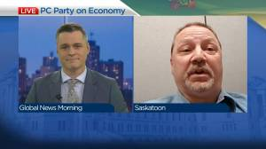 PC Party candidate on party plans for economy (04:17)