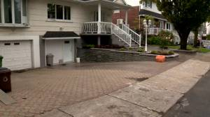 Heavy rain wreaks havoc in Montreal's east end