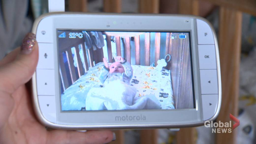 Calgary mom questions video baby monitor privacy after 'spooky' incident