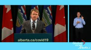 Health minister says Albertans will have ability to show COVID-19 vaccine status without mandating passport (01:43)