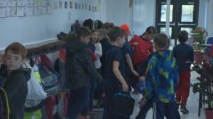 Edinburgh Elementary School breaks in new modular classrooms