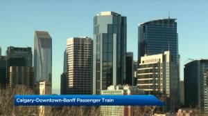 Calgary to Banff train proposed by 3 city councillors (02:56)