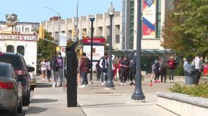Kingston Police respond to more than 100 noise complaints in the university district over the weekend