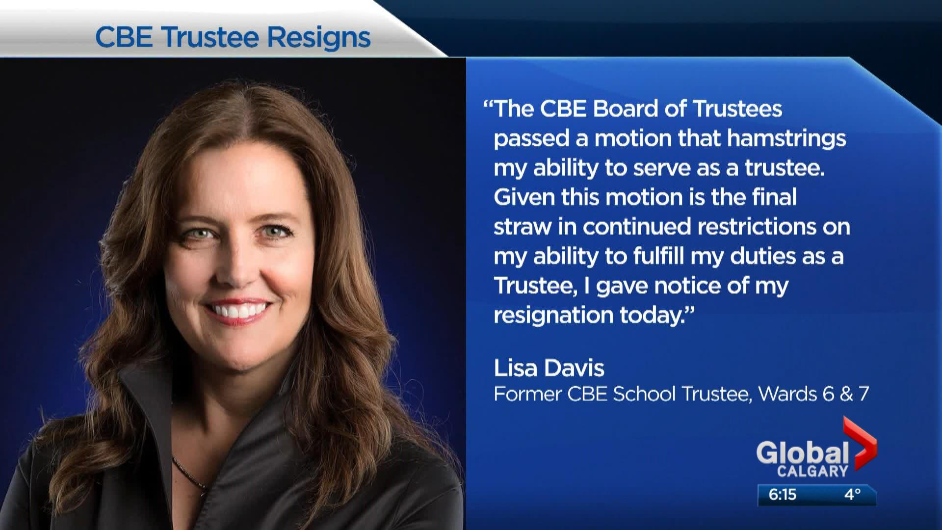 CBE trustee resigns, accuses board of secrecy