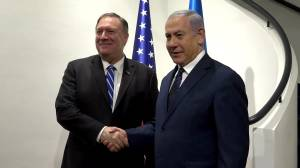 Pompeo to Israel: U.S. focus is still on Iran 'threat'