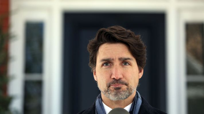 Click to play video 'Trudeau faces pressure to change Biden's mind on Keystone XL'