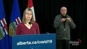Coronavirus: Alberta records 20 deaths from COVID-19 on Monday (00:31)