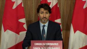 Coronavirus: Trudeau warns Canada has reached a 'tipping point' in COVID-19 fight (01:22)