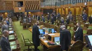 Canadian Members of Parliament observe moment of silence in honour of late former MP Don Mazankowski (01:55)
