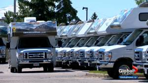 Alberta RV dealers see boom in sales, rentals due to COVID-19