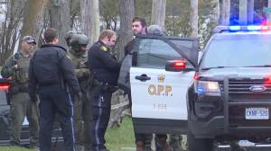 Heavily armed OPP officers negotiate with a Frankford man in a ground floor apartment for hours; standoff ends peacefully
