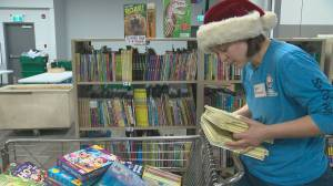 Our YEG At Night: Volunteers bring holiday spirit to CHED Santas Anonymous