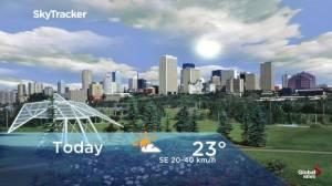 Edmonton early morning weather forecast: Friday, September 6, 2019