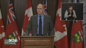 Ontario's latest COVID-19 projections paints grim picture (02:05)