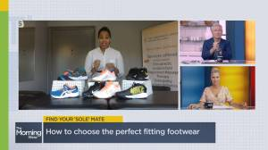 Choosing the best shoes for fall activities (03:00)