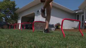 Canadian girls forced onto sidelines during COVID-19 pandemic may not return to sport (01:45)