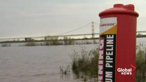 Enbridge defies Michigan order, plans to continue operating Line 5 (01:54)