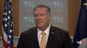 Pompeo says expulsion of Cuban officials from Bolivia was 'right thing to do'