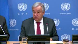 U.N. Secretary General expresses concern, says 'growing instability' in Middle Eastern Countries (00:30)