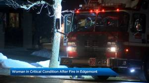 Edgemont fire sends woman to hospital