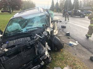 2 injured in head-on collision near Port Hope