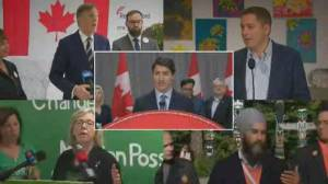 Federal Election 2019: Leaders focus on Quebec voters ahead of French-language debate (02:20)