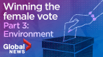 Winning the Canadian female vote – Part 3: Environment