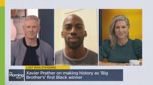 Big Brother winner recounts historic victory (03:38)