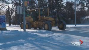 Parking ban issued in Edmonton after week of bitter cold
