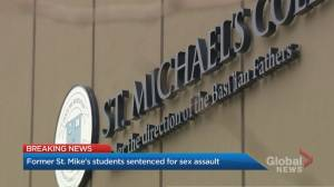 3 former St. Michael's College School students sentenced to 2 years' probation (03:21)