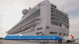 Canadians quarantined on cruise ship in Japan to come home
