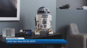 Celebrate 'Star Wars Day' with the latest memorabilia (04:47)