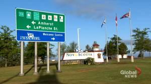 Nova Scotia opens border with New Brunswick (01:54)