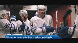 NHL season opens to new look, new protocols (04:46)